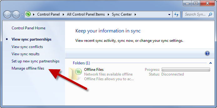 how to turn on offline sync for google drive