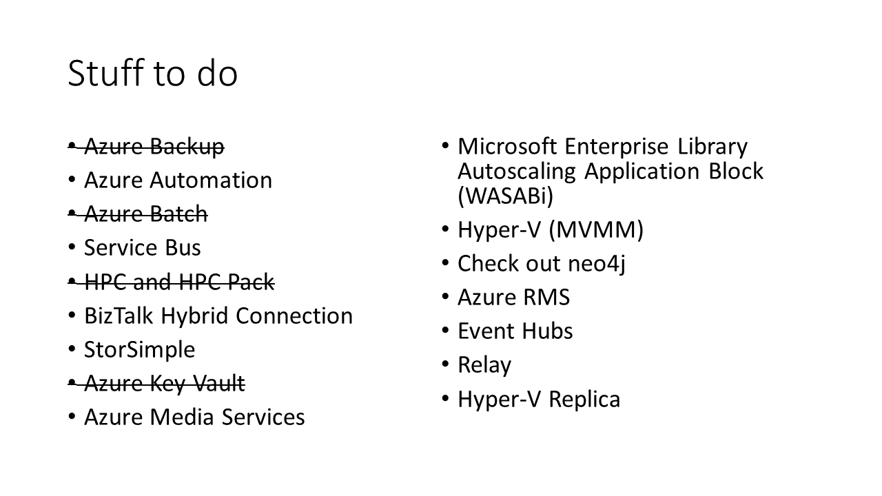 My microsoft azure certification revision sheets nicholas rogoff slide index azure architecture certification 1betcityfo Choice Image